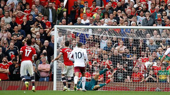 Manchester Uniteda Aston Villa şoku Bir de penaltı kaçtı