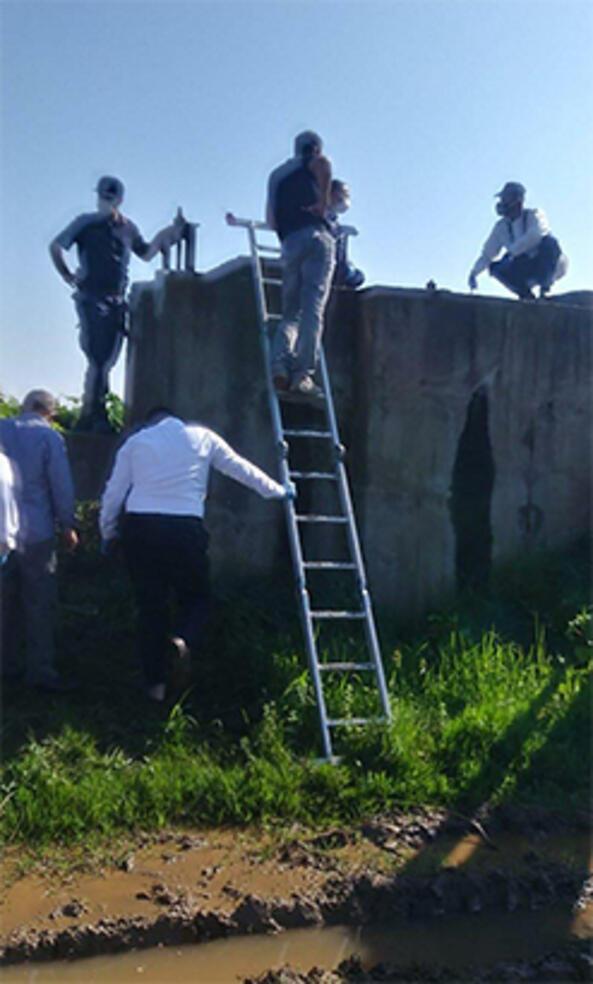 Manisada korkunç olay Sulama kanalı dubasında erkek cesedi bulundu