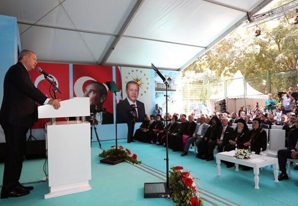 Cumhurbaşkanı Erdoğan: İstanbul için yeni bir zenginlik