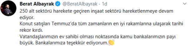 Bakan Albayrak duyurdu Tarihi rekor...