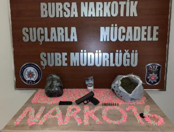 Bursada uyuşturucu ticaretine 3 tutuklama