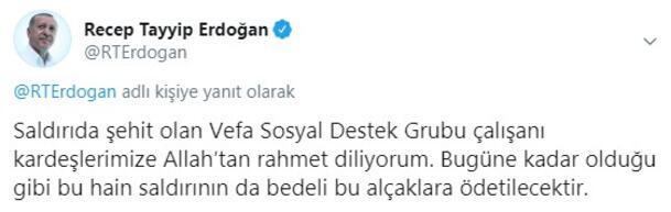 Son dakika haberi I Vanda alçak saldırı Cumhurbaşkanı Erdoğandan açıklama