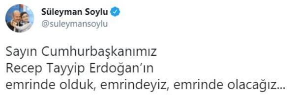 Son dakika... Bakan Soyludan Cumhurbaşkanı Erdoğanın sözlerine flaş yanıt
