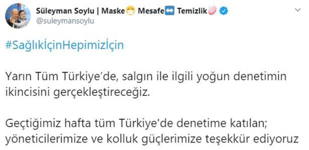Son dakika haberleri: Bakan Soyludan flaş açıklama Tüm Türkiyede yapılacak...