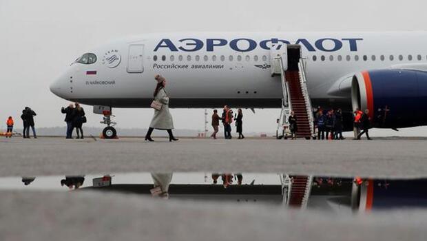 Aeroflot'un yolcu sayısı azaldı