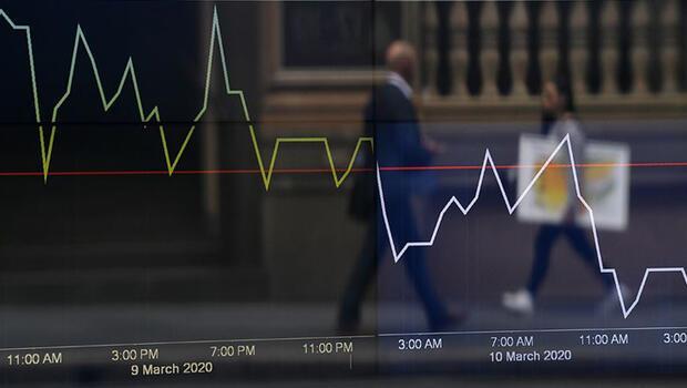 Piyasalar enflasyon endişesiyle sert düştü