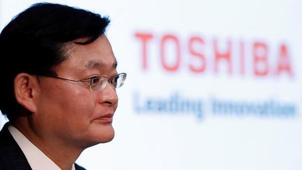 Toshiba`nın CEO`su görevinden ayrıldı