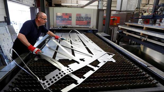 İngiltere`de imalat sektörü sert yükseldi