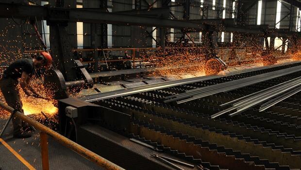 Türkiye`nin ham çelik üretimi arttı