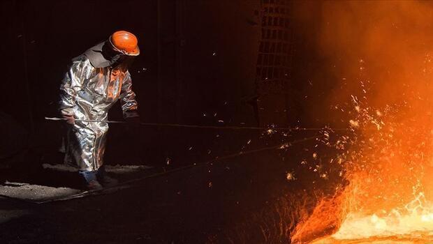 Ham çelik üretimindeki artış yüzde 20`yi geçti