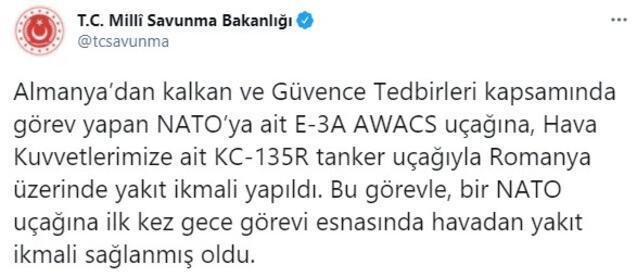 Son dakika... Türkiye ilk kez oldu deyip duyurdu NATO uçağına yapıldı