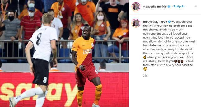 Son dakika - Galatasarayda Mbaye Diagneden kafa karıştıran tepki