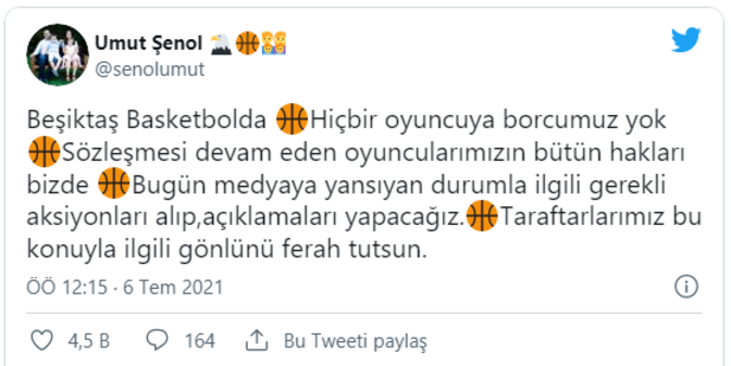 Son dakika transfer haberleri - Fenerbahçe Beko, Şehmus Hazer transferini bitirdi