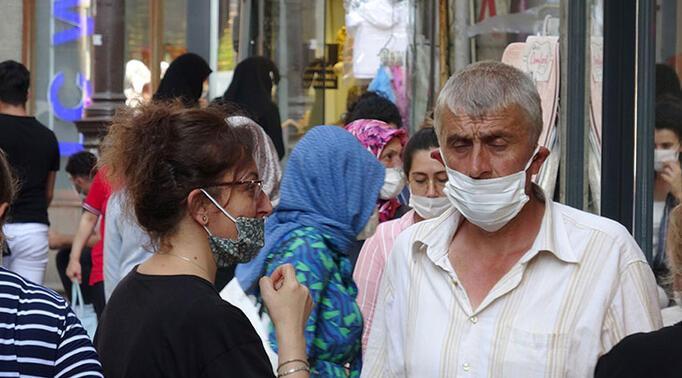 Trabzonda maske denetimi