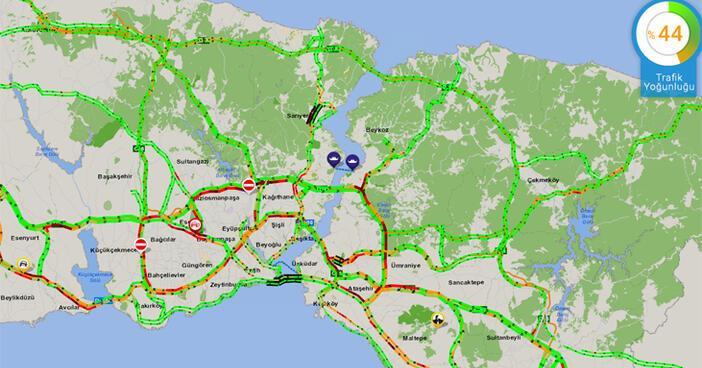 Son dakika | Okullar açıldı İşte İstanbul trafiğinde son durum...