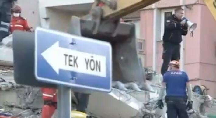 Son dakika: İzmir deprem bölgesinde sıcak büyüme.  Birbiri ardına gelen haberler ...