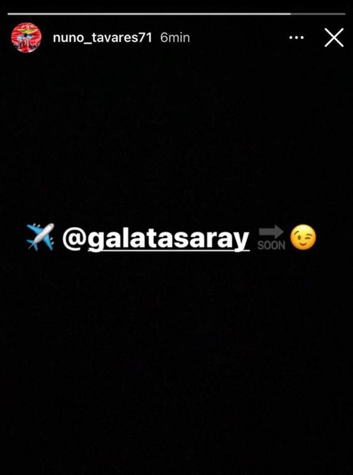 Son dakika haberi | Galatasaraylıları heyecanlandıran paylaşım Nuno Tavares...