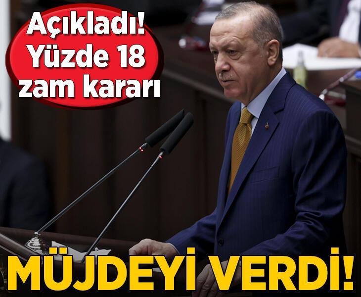 Son Dakika | Cumhurbaşkanı Erdoğan öğrencilere müjdeyi verdi! Yüzde 18 zam