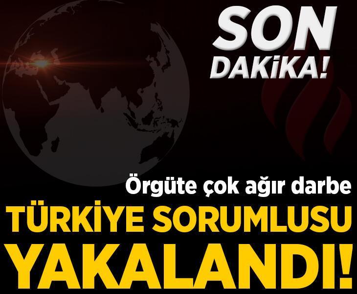Son dakika... Örgüte ağır darbe! Türkiye sorumlusu yakalandı