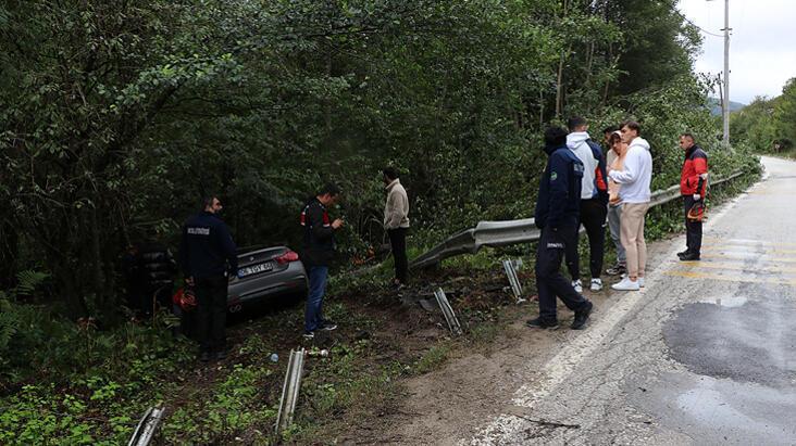 Bolusporlu futbolcular ölümden döndü Ağaç kütüğü hayat kurtardı