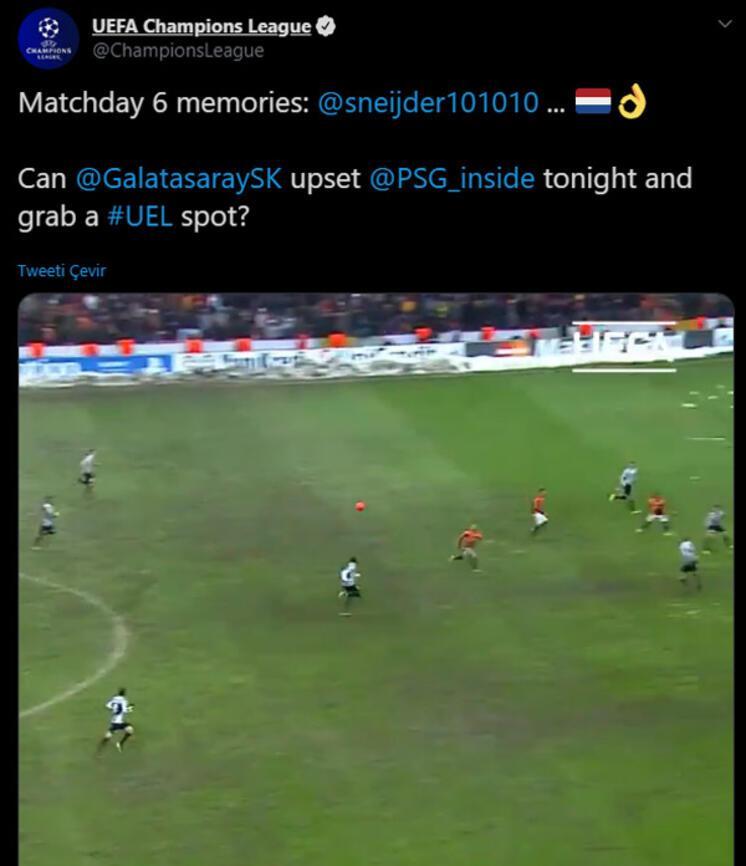 UEFA, Galatasarayın Juventus maçını unutmadı