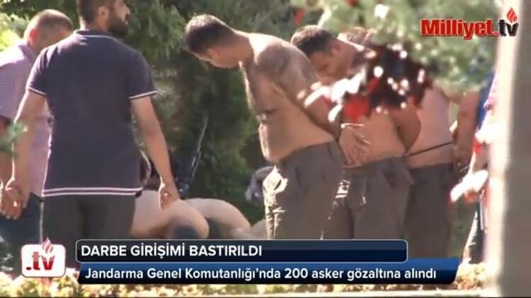 Tüm Türkiyede darbecilere gözaltı dalgası