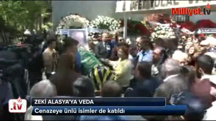 Zeki Alasyaya veda