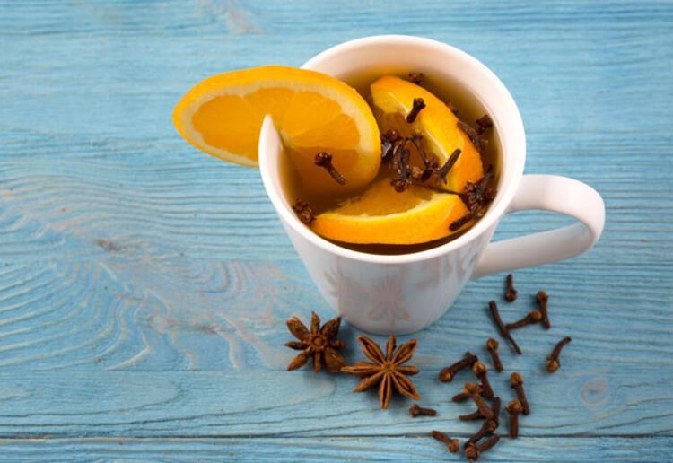 Boğaz ağrısına karanfilli çay