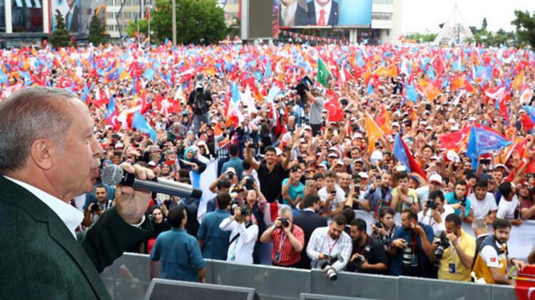 Cumhurbaşkanı Erdoğan: Askerimiz şu anda devriye görevine başladı