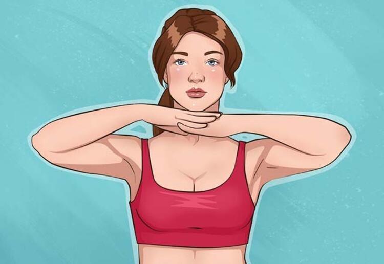 Çene altı egzersizi