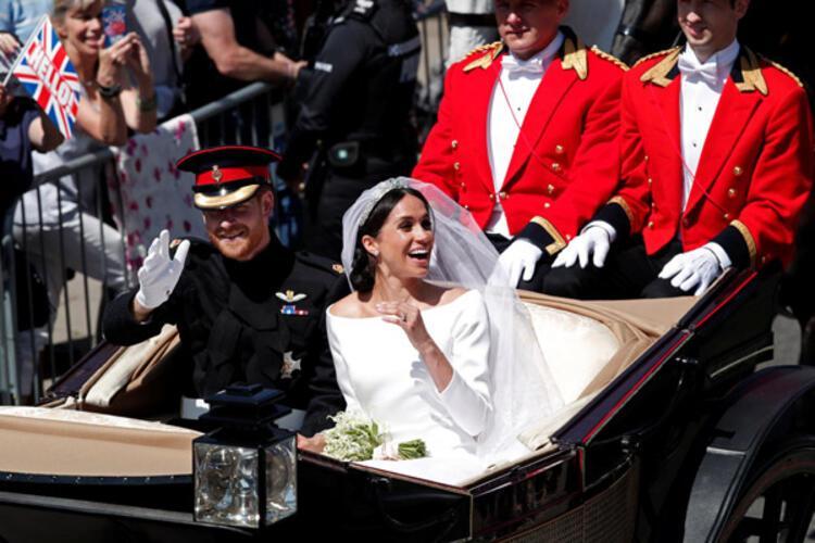 Son dakika... Prens Harry ve Meghan Markle evlendi