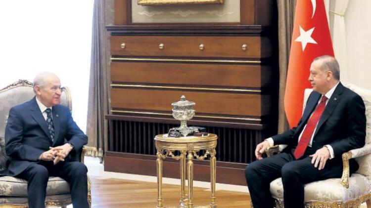 Erdoğan ve Bahçeli anlaşma sağladı Erken seçim 24 Haziran'da