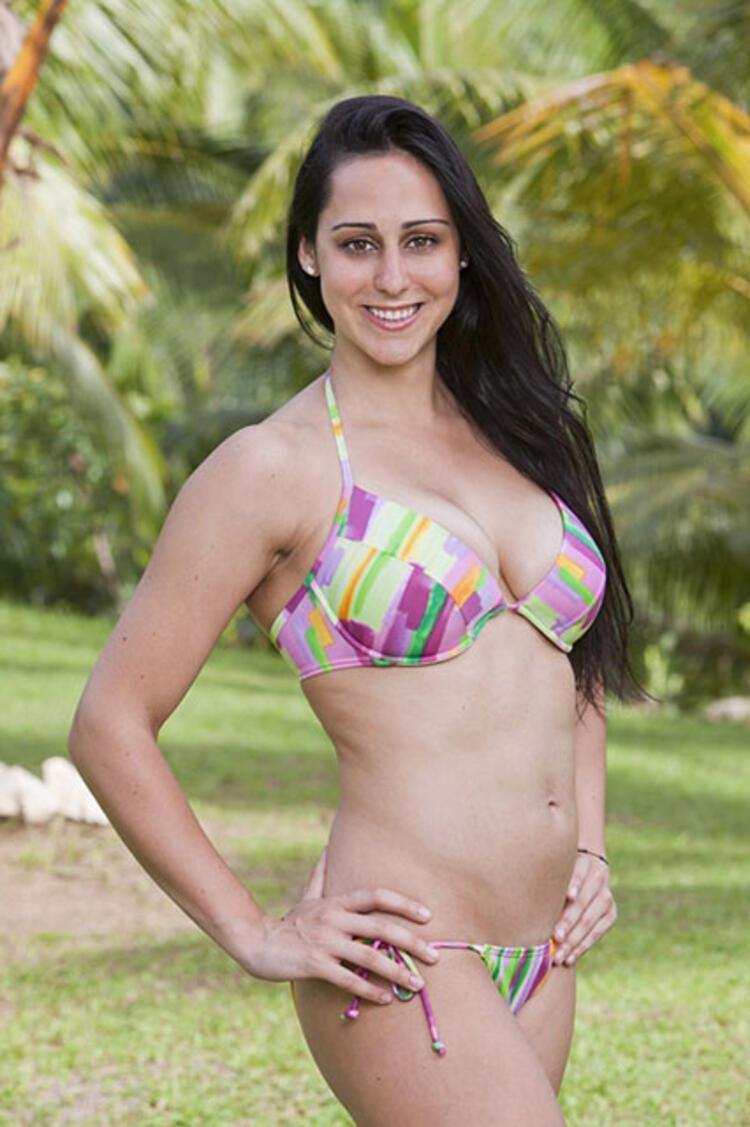 Survivor upclose bikini shots