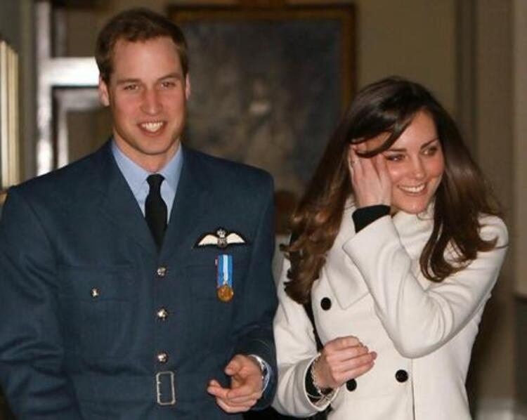 PRENS WILLIAM & KATE MIDDLETON