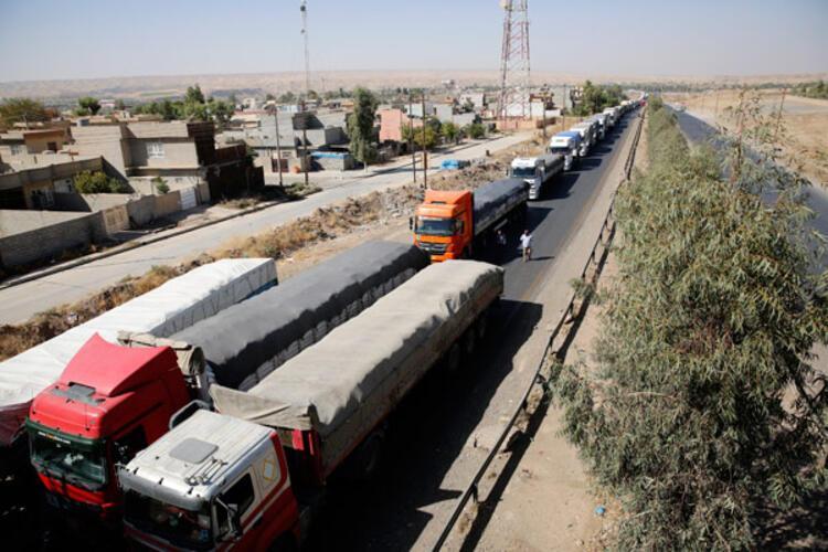 Son dakika... Erbil çevresinden şok fotoğraflar Eller tetikte...
