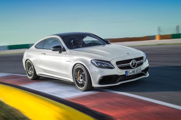 Özel yapım bir Mercedes
