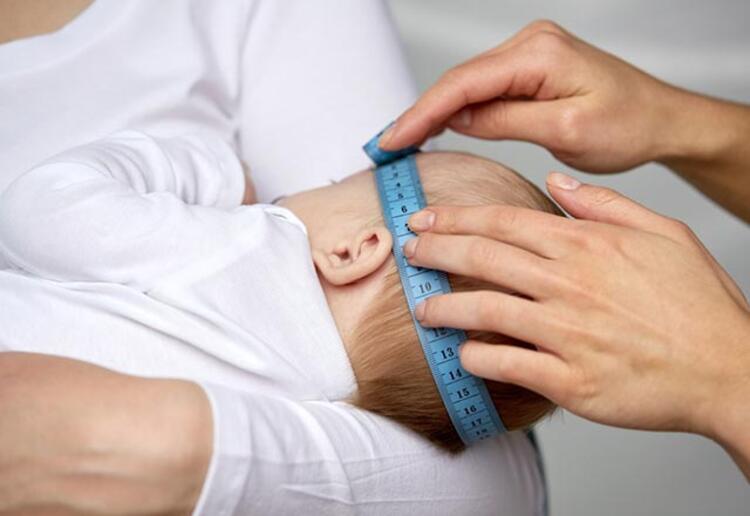 Bebeğinizin baş çevresini ölçtürün