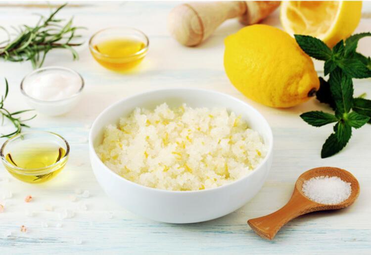 Tuz ve limon ile doğal tüy dökme yöntemi