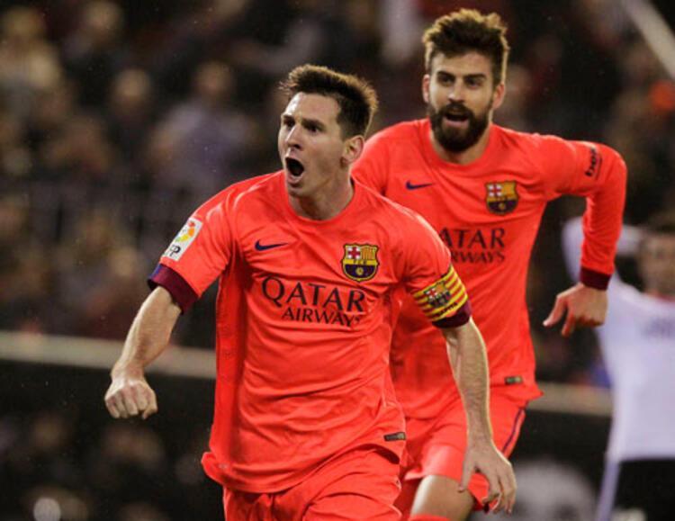 La Ligada Barcelona, Valencia deplasmanında zorlandığı mücadelede rakibini son dakika golüyle mağlup etti. Golden sonra ortalık karıştı.İŞTE O ANLAR