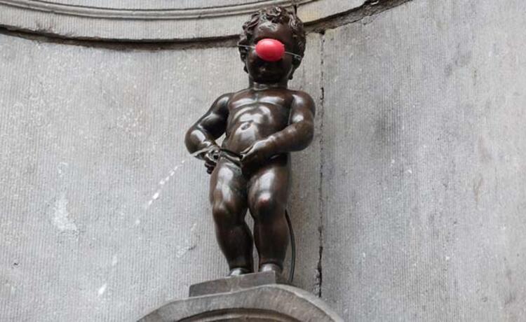 Manneken Pis (Brüksel, Belçika)