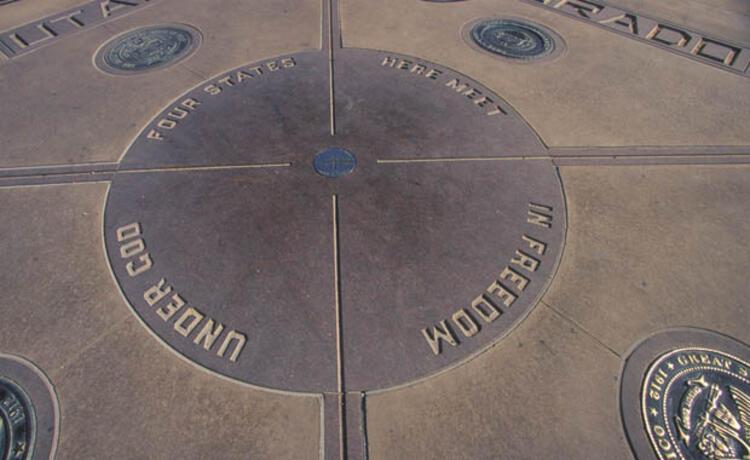 Four Corners Anıtı (San Juan, New Mexico, ABD)