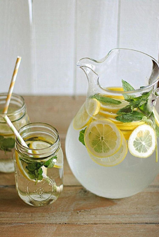 Nane ve limon detoksu