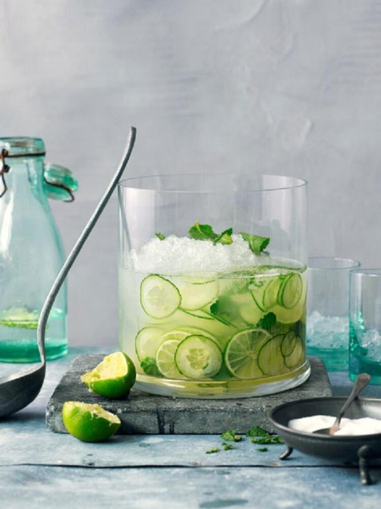 Yeşil limon detoksu