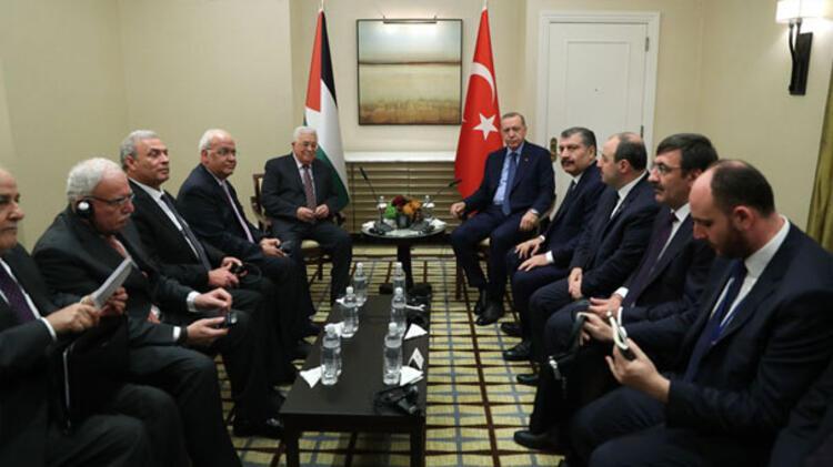 Cumhurbaşkanı Erdoğandan üst düzey görüşmeler sürüyor