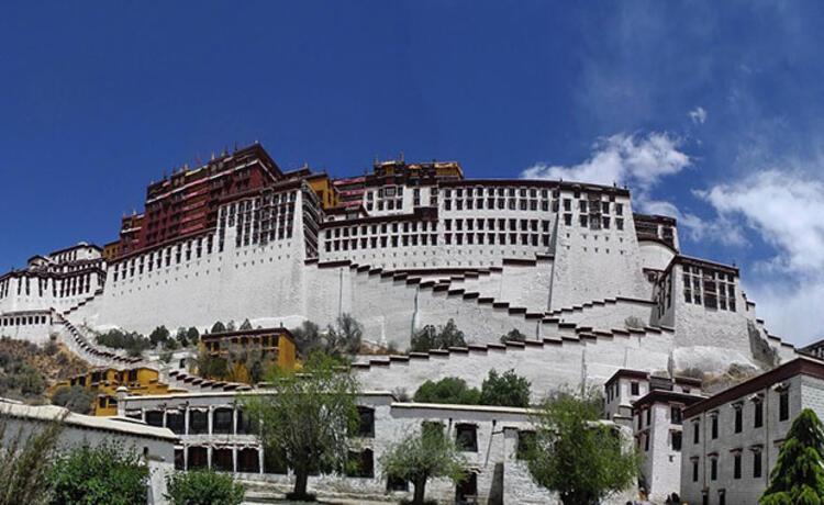 Potala Sarayı, Çin