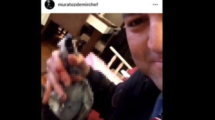 MasterChef yarışmasından diskalifiye olan Murat Özdemirin Instagram hesabından paylaştığı video büyük tepki topladı.HABERİN VİDEOSUNU İZLEMEK İÇİN TIKLAYIN