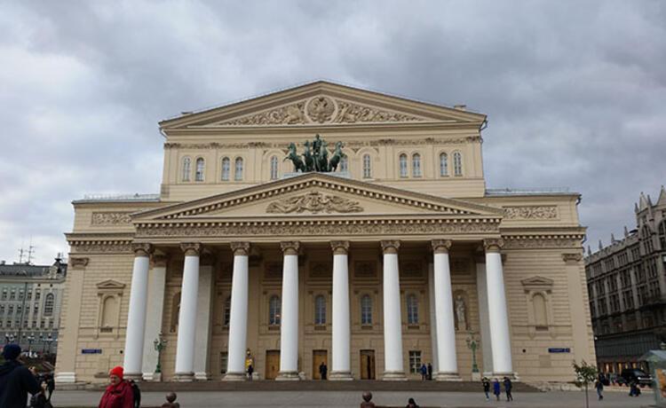 Dünyaca ünlü Bolşoy Tiyatrosu
