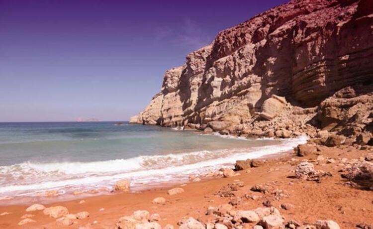 Kızıl Plaj, Girit-Yunanistan