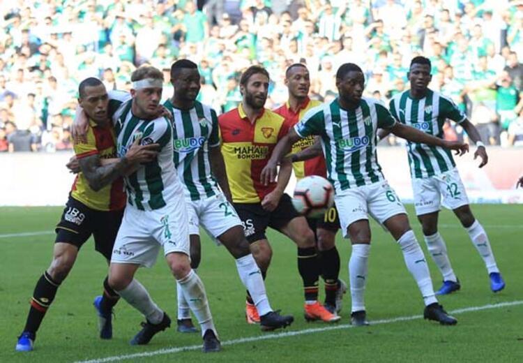 Bursaspor kazanıp Göztepenin kaybını bekleyecek