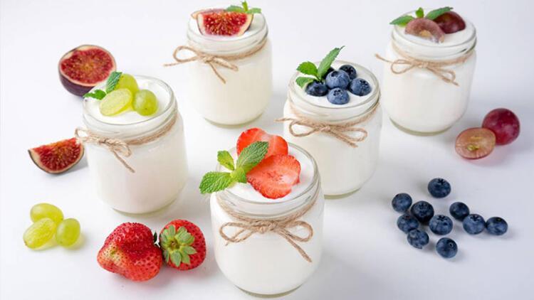 6-Meyveli yoğurt